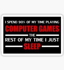 Computer Games Sticker