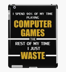 Computer Gaming iPad Case/Skin