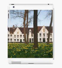 Brugge, Belgium, Begijnhof Ten Wijngaerde iPad Case/Skin