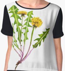 Dandelion flower. Women's Chiffon Top
