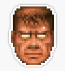 Doom Face 7 Sticker