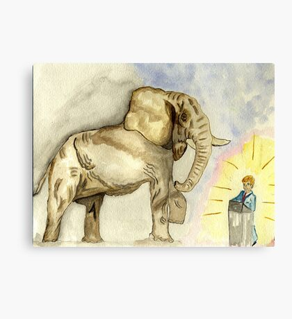 Rage, Rage  against the dying of the Light. Canvas Print