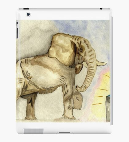 Rage, Rage  against the dying of the Light. iPad Case/Skin