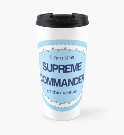 Supreme Commander Travel Mug