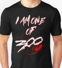 I AM ONE OF 300. (BLACK-EDITION) T-Shirt