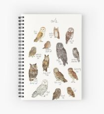 Owls Spiral Notebook
