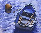 Buoy And Boat by Michael Beckett