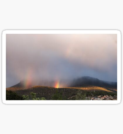 kunanyi/Mt Wellington sunrise Sticker