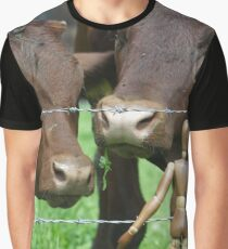 Amazed Cows Graphic T-Shirt