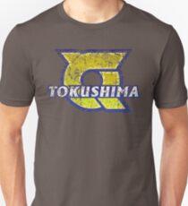 Tokushima Prefecture Japanese Symbol Distressed T-Shirt