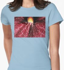 Red Dutchman's Pipe Flower - Macro T-Shirt