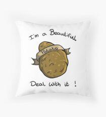 Beautiful Potato ! Throw Pillow
