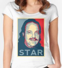 Ron Jeremy Hope? Pornstar Fitted Scoop T-Shirt