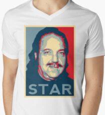 Ron Jeremy Hope? Pornstar Men's V-Neck T-Shirt