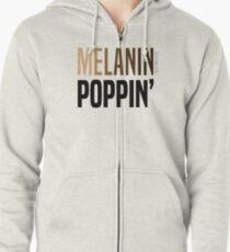 MELANIN POPPIN' Zipped Hoodie