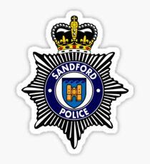 Sandford Police Sticker