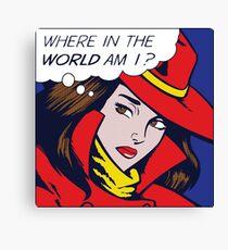 Pop Sandiego Canvas Print