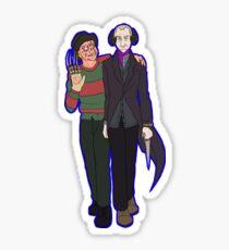 Freddy and Inkubus Sticker