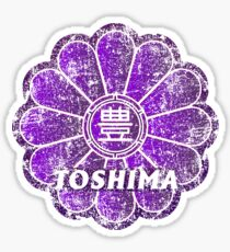 Toshiba Ward of Tokyo Japanese Symbol Distressed Sticker