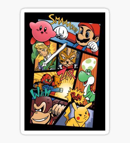Dairanto Smash Bros Sticker