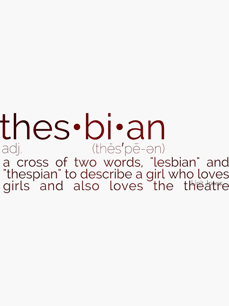 Definición de Thesbian de milkless