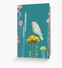 en chemin Greeting Card
