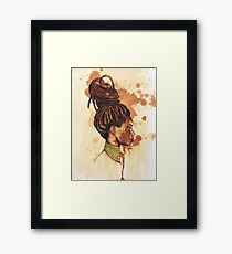 Perfectly Flawed Framed Print