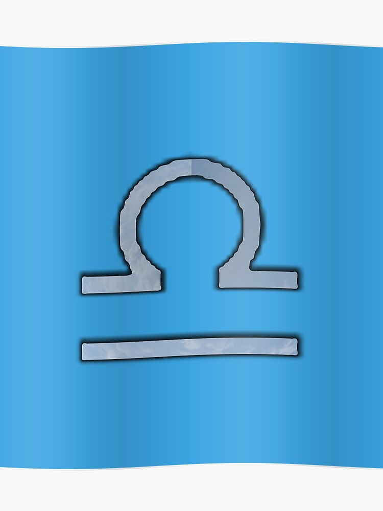 Libra Zodiac Symbol Element | Poster