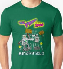 Flight of the Conchords - Binary Solo - Robots 2 T-Shirt