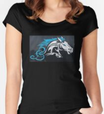 Broncos of Clovis North Women's Fitted Scoop T-Shirt