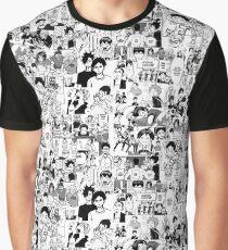 Haikyuu!! - Manga Collage Graphic T-Shirt