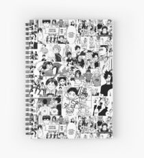 Haikyuu !! - Manga Collage Cahier à spirale