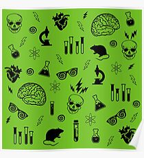 Weird Science in Green Poster