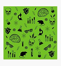 Weird Science in Green Photographic Print