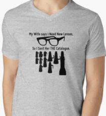 Getting New Lenses Men's V-Neck T-Shirt