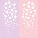 Cascading Stars + Glitter by starlightslk