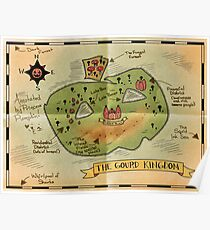 Map of the Gourd Kingdom Poster