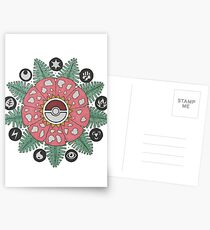 Pokemandala Postcards