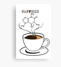 .Caffeine Canvas Print