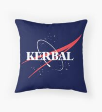 Kerbal Space Program Hoodie Throw Pillow