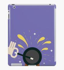 Magician with magical wand iPad Case/Skin
