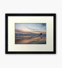 Pacific Glow Framed Print