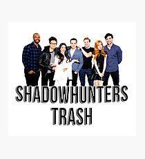 Shadowhunters Trash Photographic Print
