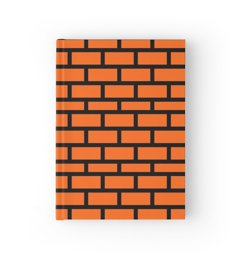 Quot Super Mario Brick Pattern Quot Hardcover Journals By