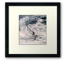 The Art Of Surfing In Hawaii 34 Framed Print