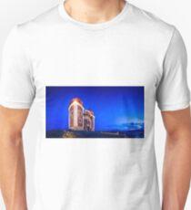 Calvary In Banska Stiavnica at night Unisex T-Shirt