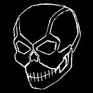 Metal Skull (Sketch) by Sinubis