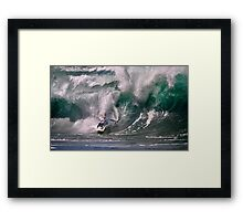 The Art Of Surfing In Hawaii 35 Framed Print