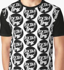 Ice Tea Time Graphic T-Shirt
