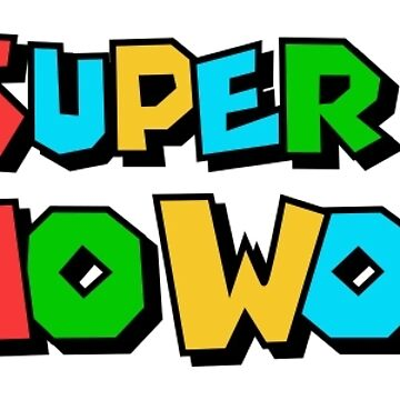 Super Mario by ianmca